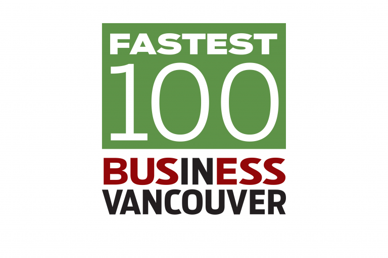 Business in vancouver fastest 100 Blog Banner
