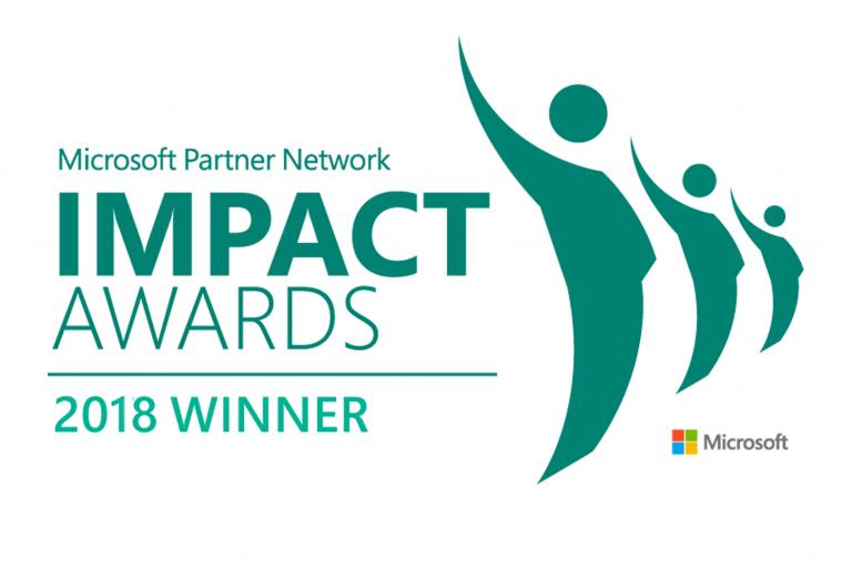 IMPACT 2018 award Blog Banner