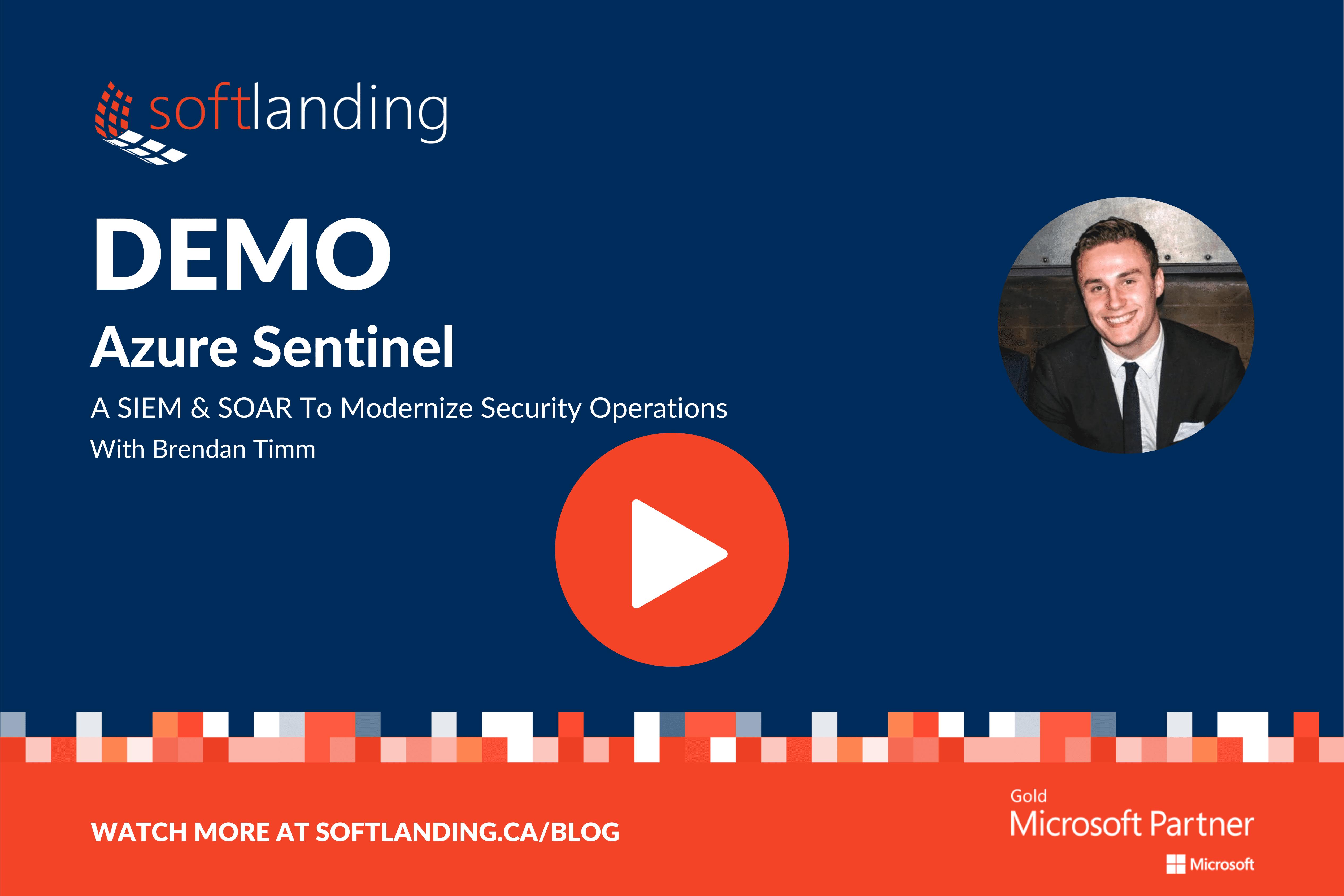 Azure Sentinel Demo Banner play