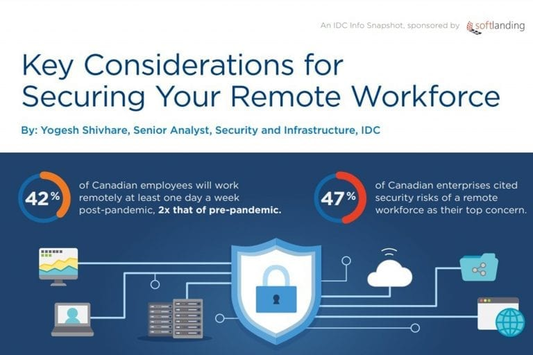infographic on Securing Your Remote Workforce